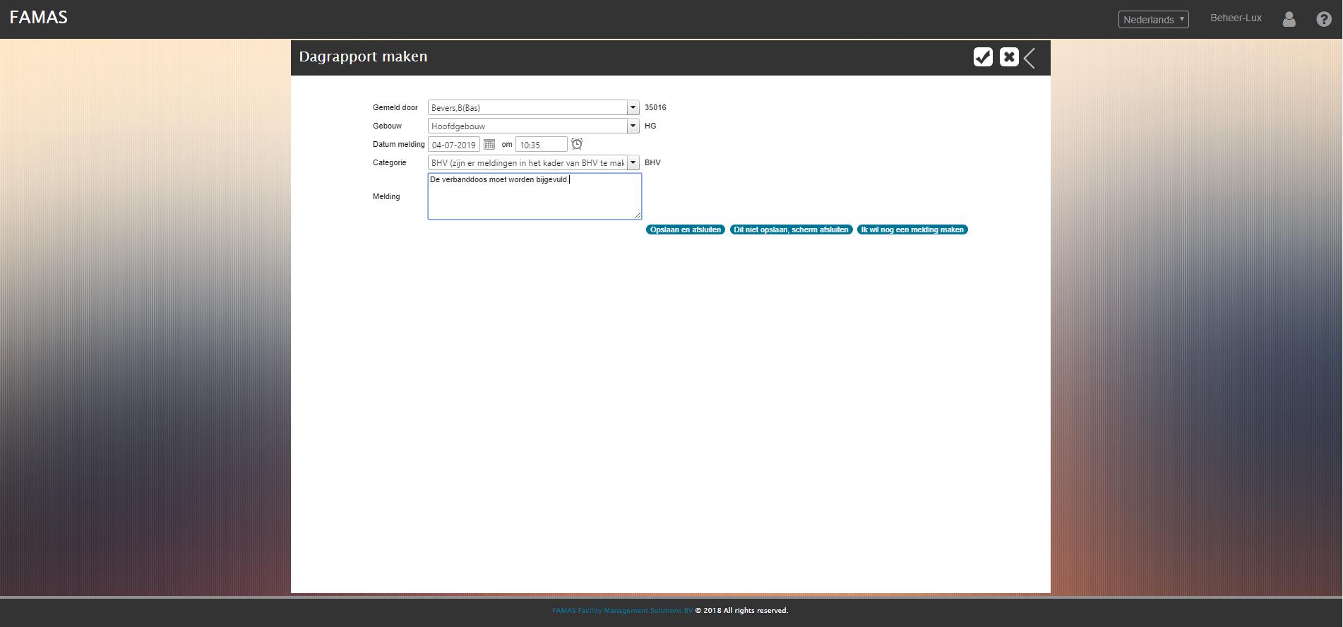 Logboekregistratie Portal